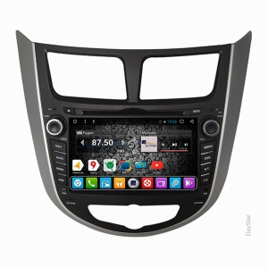 Штатная магнитола Daystar DS-7011HD для Hyundai на ОС Android 9