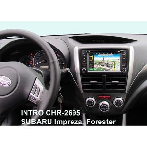 Штатная магнитола Incar CHR-2695SF для Subaru на Windows CE