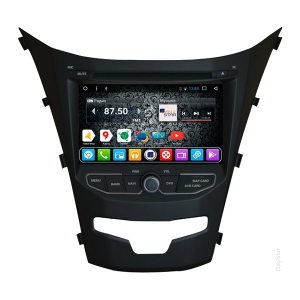 Штатная магнитола Daystar DS-7006HD для Ssang Yong на ОС Android 7.1