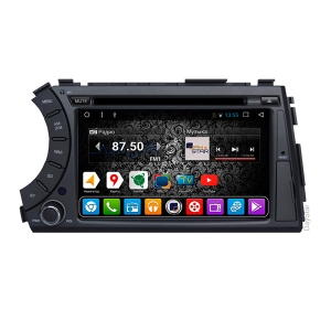 Штатная магнитола Daystar DS-7005HD для Ssang Yong на ОС Android 9